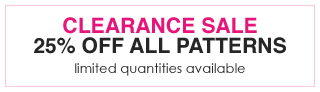25% off all patterns